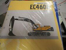 New Volvo EC460B Excavator Operators Manual