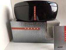 PRADA SPORT Eyeglasses Sunglasses Black Hardshell Case w/new original packaging