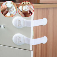 10/20Pcs Child Adhesive Kid Baby Safety Drawer Door Lock Cupboard Cabinet Belt