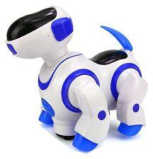 Childrens i-Robot Puppy Dog Flashing Light & Sound Singing Dancing Steering Blue