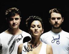 Dragonette Martina Dan Joel Synthpop electronic new wave signed 8x10 Photo w/COA
