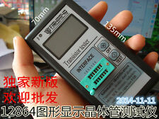 Portable Component Tester Transistor Diode Triode Capacitance ESR Meter Inductor