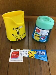 Pokemon Hand Soap Muse No Touch Dispenser Soda Lemon Scent 250ml Pikachu