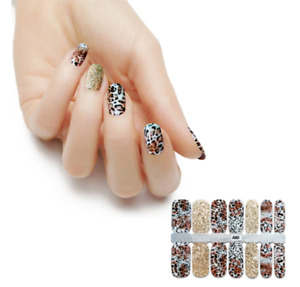 Glitter Color Nail Polish Strips - BUY 4 GET 3 FREE - FREE SHIPPING