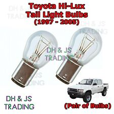 Toyota Hi Lux Tail Light Bulbs Pair of Rear Tail Light Bulb Lights HiLux (97-05)