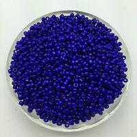 Wholesale DIY 200pcs 4mm Blue Czech Glass Seed Spacer beads Jewelry Fitting
