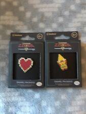 Zelda Enamel Pin Badge Paladone Nintendo New Sealed Heart Tri Force Link