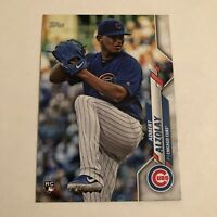 2020 Topps Series 1 Base #340 Adbert Alzolay RC Chicago Cubs