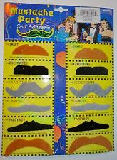 Samuel Adams Curious Traveler - Page of 12 Mustaches - Fake Mustache - Style 2
