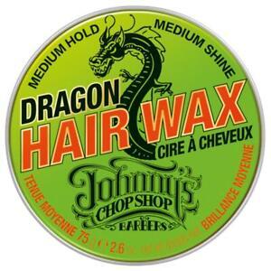 Johnny's Chop Shop Dragon Hair Wax 75g medium hold shine