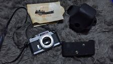1970s Chinon CS Camera Body 35mm film, SLR w M42 Mount & Snap On Case