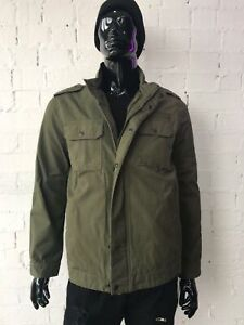 NEW Men's Jacket * Army Jacket * Green Men