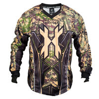 New HK Army Paintball HSTL Line Playing Jersey - Camo Camouflage - X-Large XL