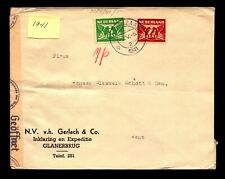 Netherlands 1941 Censor Cover to Germany - L11018