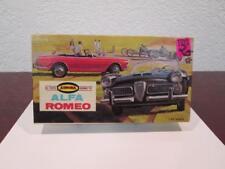 1963 ALFA ROMEO SPORTS CAR AURORA MODEL KIT MINT UNUSED INSTRUCTIONS & BOX