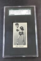 1938 Cartledge Razors Famous Prize Fighters #47 Small Montana SGC 92(8.5)  (A)