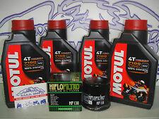 KIT TAGLIANDO OLIO MOTUL 7100 10W40+F/OLIO SUZUKI GSR 600 (06-10)