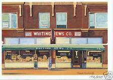 """WHITING INDIANA """"Life of Whiting"""" Card #10 Whiting News"""