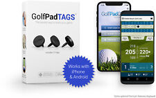 Golf Pad TAGS Automatic Game Tracking-  Open Box in NEW condition