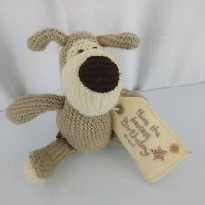 American Greetings Knit Crochet Sweater Puppy Dog Have the Bestest Birthday ever