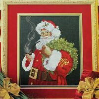 SPIRIT OF SANTA Christmas Cross Stitch Pattern Santa Claus