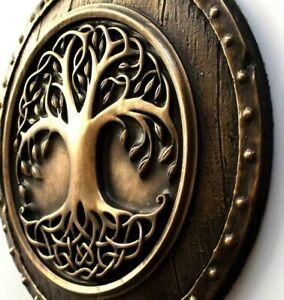 Viking Tree of Life Yggdrasil Norse Wall Hanging Asatru Art Rustic Home Decor