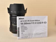 Nikon AF-S Nikkor 18-200mm f/3.5-5.6 VR - Serie 2009055