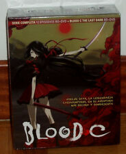 BLOOD C SERIE COMPLETA+PELICULA COMBO 4 BLU-RAY+4 DVD NUEVO PRECINTADO R2