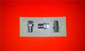 LML STAR 125 4 STROKE Clutch & Gear Cable Trunnion Nipple Ferrule SET OF 3 17019