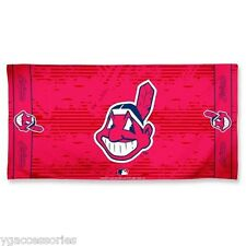 MLB Cleveland Indians Wincraft 30 X 60 Fiber Reactive Beach Pool Dorm Towel NEW!