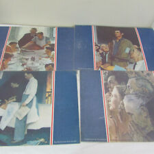 Norman Rockwell Placemats Set of 4 Four Freedoms Laminated Place Mats