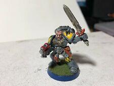 40k Space Wolves Wolf Guard Sergeant well painted metal OOP