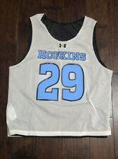 Under Armour Men's John Hopkins BlueJays Lacrosse Reversible Jersey Sz•L NEW #29