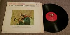"Al Hirt/Boston Pops/Fiedler ""Pops Goes The Trumpet Holiday for Brass"" 12"" Vinyl"