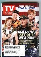 TV Guide Magazine January 5-11 2002 Carol Burnett EX w/ML 091616jhe