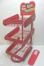 Nestle Retail Candy Store Counter Rack Shelf Stand 3 Tier Portable Display