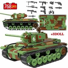 Military Tank Building Blocks Construction Educational Children Bricks Sets Toy
