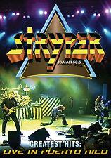 STRYPER New Sealed LIVE PUERTO RICO CONCERT & MORE DVD