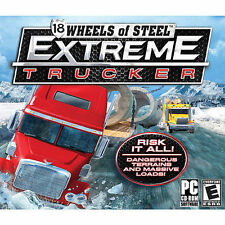 18 Wheels of Steel Extreme Trucker  drive over 25 different rigs NEW 7 Vista XP