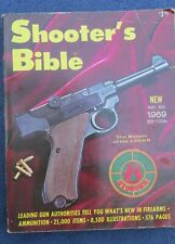 1969 Shooter's Bible No 60 Edition Stoeger 576 Pages VG
