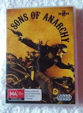 Sons Of Anarchy : Season 2 (DVD, 2011, 4-Disc Set) R-4, LIKE NEW, FREE POSTAGE