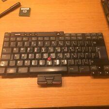 IBM THINKPAD T40 T41 T42 T43 UK Keyboard P/N 08K5017 FRU 08K5046 Model: RM88-UK