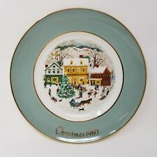 1980 Avon Country Christmas 8.75'' Collector's Plate with Box Complete