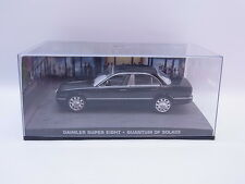 LOT 38650 Daimler Super eight 1:43 James Bond Quantum Trost Modellauto Vitrine