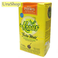 Y145 UNSMOKED YERBA MATE TEA: KRAUS PIONERO - MILD/SUAVE - SUSTAINABLE FARMING