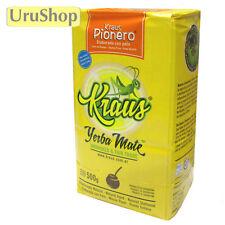 Y145 UNSMOKED YERBA MATE TEA: KRAUS PIONERO - MILD/SUAVE - SUSTAINABLE FARMING