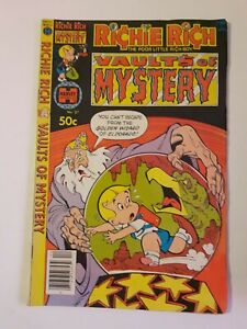 Harvey Richie Rich Vault Of Mystery NO. 37 Comic Book Free Combined Shipping!!!