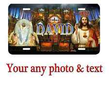 Personalized Jesus License Plate Car Tag  Custom any text or Name.Nice Gift