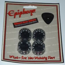 Epiphone Les Paul Knobs Speed Black Set Guitar Parts Custom SG HP ES Explorer T