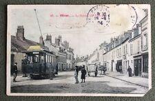 CPA. OLIVET. 45 - La Station du Tramway. 1904.